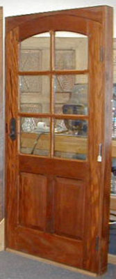Custom Doors - Mahogany Entry Door