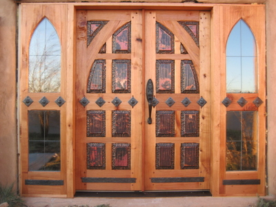 Custom Doors - Double Copper Gothic
