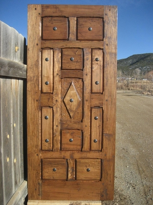 Exterior Doors - 11 panel with Clavos