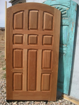 Exterior Doors - Cross with monks door