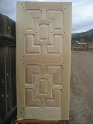 Exterior Doors - Mitered Panels w/ Monks door