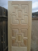 Mitered Panels w/ Monks door