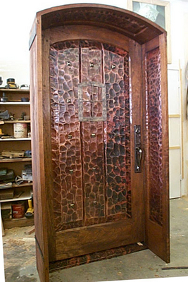 Interior Doors - Single Panel Copper