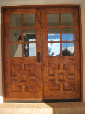 Exterior Doors - Los Alamos with Glass