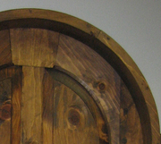 Four Panel Round Top Door